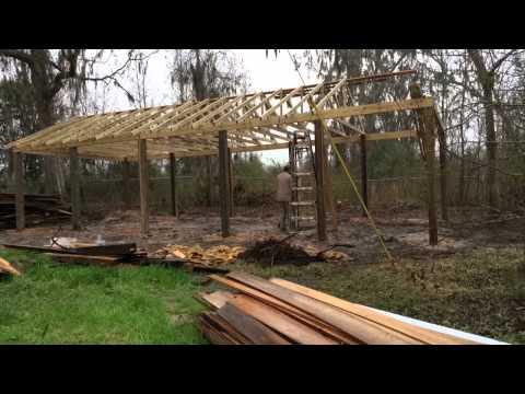 four minute pole barn