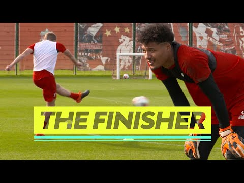 Video: The Finisher | Liverpool's NEW four-way shooting challenge | Brilliant drill from the Academy