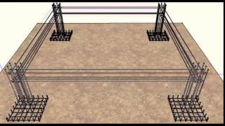 Reinforced Concrete Building Design - Sketch Up Animation ARDL