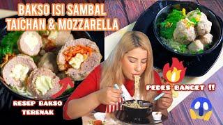 Video COOKING WITH TASYI : EP 03 - RESEP BAKSO ISI SAMBAL TAICHAN + MOZARELLA MP3, 3GP, MP4, WEBM, AVI, FLV Juli 2019