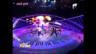 """Denisa Anastasiei si Matteo - Jennifer Lopez feat. Pitbull - """"On The Floor"""" - Next Star"""