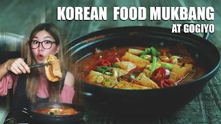 Video KOREAN Mukbang at GOGIYO PIK || Kimchi Jeongol, Mandoo, Samgyupsal MP3, 3GP, MP4, WEBM, AVI, FLV Maret 2018