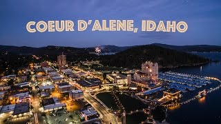 Coeur D'Alene (ID) United States  city photo : Coeur d'Alene, Idaho | From Above 4K