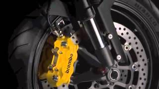 2. 2011 2012 Ducati Monster 1100 Evo studio details & action compilation