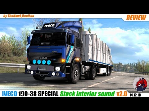 Iveco 190-38 special Stock Interior sound v1.0