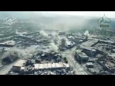 فيديو : ميليشيات «حزب الله» تصرخ في #حلب: جنود بشار تركونا وهربوا #ملحمة_حلب_الكبرى #حلب #سوريا