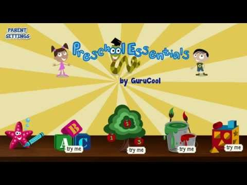 Video of Preschool Educational Games