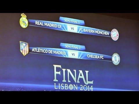 Sorteo Semifinales UEFA Champions League 2014 /Semi-finals 1/2 Análisis