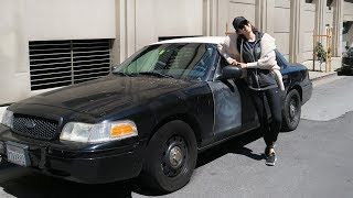 """Can you believe we got this police interceptor for $2700 in 2008 and it is still in a good condition? My first American car, absolutely love it, would buy it again! The model is Ford Crown Victoria. The funniest part about driving this car is that people want to take pictures with it all the time! AND it's cheap. This video also features a test drive of the police interceptor that I've owned. We bought it from Craigslist in 2015 and paid less than $2700 for it. I drove it for 6 months and then we sold it to my friend at Stanford. He is still driving it and says that this Ford Crown Victoria is the best!⭐ INSTAGRAM - linguamarina⭐ FACEBOOK - https://www.facebook.com/marina.mogilko⭐ MY COMPANY - https://linguatrip.com⭐ ASK ME A QUESTION - https://goo.gl/dQ9HDwFILMING EQUIPMENT👍 CANON G7X - http://amzn.to/2l2aSfE👍 CANON 650D - http://amzn.to/2l0ihNs👍 RODE MIC - http://amzn.to/2l2cwOq👍 50 MM LENS - http://amzn.to/2l0rNjrPROMOS$20 TO SPEND ON AIRBNB - http://bit.ly/2g0F87Q$20 TO SPEND ON UBER - http://ubr.to/2k1B89L-~-~~-~~~-~~-~-Please watch: """"HOW I LEARN ENGLISH BY WATCHING TV SHOWS - vocabulary, topics"""" https://www.youtube.com/watch?v=7uSHsac_-gI-~-~~-~~~-~~-~-"""
