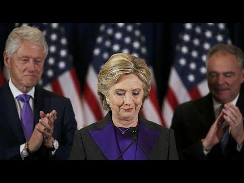 ΗΠΑ: Συνεργασία για το καλό της χώρας πρότεινε στον Τραμπ η Χίλαρι Κλίντον