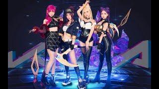 Video K/DA - POP/STARS MV Cosplay Dance Cover by 波利花菜园(PollyFlowerGarden) 翻跳 MP3, 3GP, MP4, WEBM, AVI, FLV Desember 2018