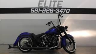 4. 2010 Harley Davidson FLSTN Softail Deluxe Custom * For Sale * SOUTHFLORIDAHARLEYS