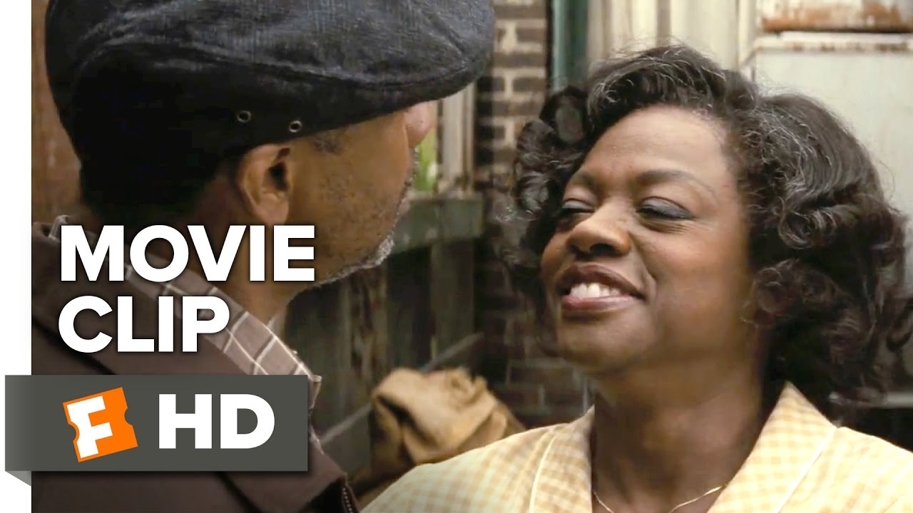 Viola Davis is the Marrying Kind in Film Adaptation of August Wilson's Play 'Fences' [Clip] with Denzel Washington