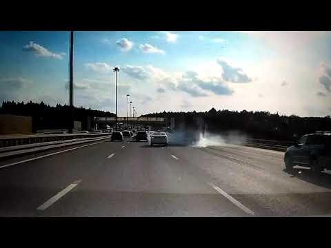 Массовое ДТП в Москве на Киевском шоссе