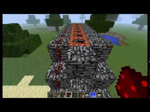 comment construire un canon a tnt sur minecraft