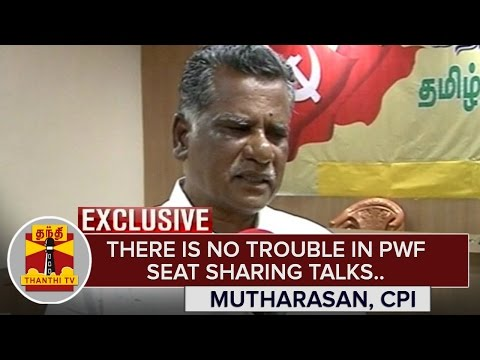 There-is-no-Trouble-in-PWF-Seat-Sharing-Talks--Mutharasan-CPI-Thanthi-TV