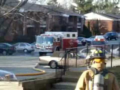 Mahwah Fire Department Apt fire/Quick Knock   2/1/2010