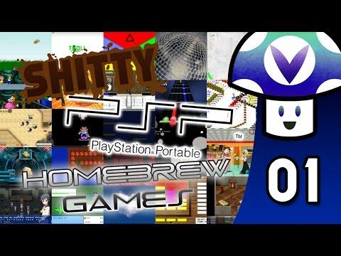 [Vinesauce] Vinny - Shitty PSP Hombrew Games (part 1) (видео)