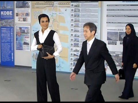 カタール前首長妃が医療産業都市訪問