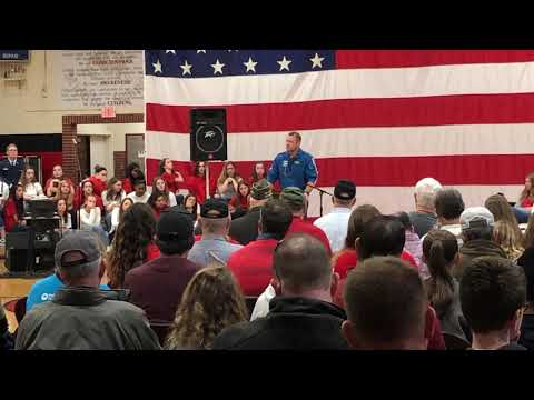 Video: Chafin speaks at Friday Veterans Day event at Colonial Heights Middle School