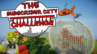 HUGE Fish Bowl & Enchanting Gardens!! | The Subscriber City Challenge | Ep.10