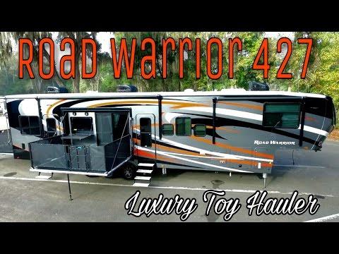 New 2017 Heartland Road Warrior 427 Luxury Toy Hauler   In Depth Walkaround & Tour