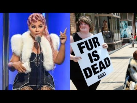 RAPPER LIL KIM GETS HARRASSED FOR WEARING FUR IN NEW YORK CITY, LIL KIM STEPS UP ( VIDEO )