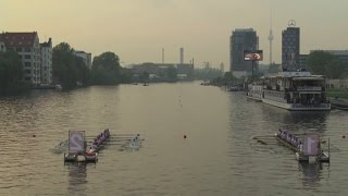 Frankfurt RG Germania win the men's final of the inaugural Rowing Champions League, whilst Crefelder RC take the women's title in Berlin on Saturday (20th ...