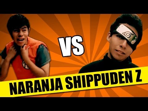 Real Dragon Ball Z VS Naruto Shippuden | SKETCH | QueParió!