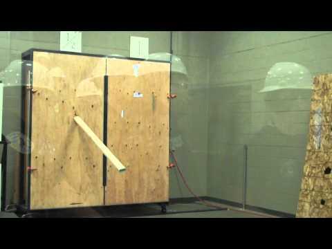 FM 2x4 projectile test 2