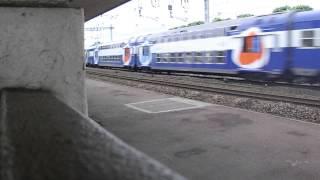 Epinay-sur-Orge France  City new picture : Un RER C Rapide en gare d'Epinay sur Orge