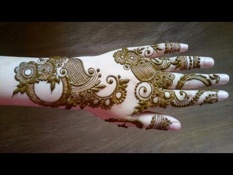 Simple Easy Mehndi Henna Designs For Hands Mehndi Designs For Beginners