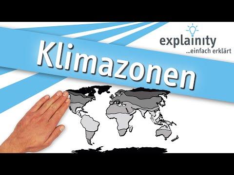 Klimazonen einfach erklärt