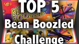 Top 5 of Bean Boozled Challenge feat. JoshuaDTV & EvanTubeRAW
