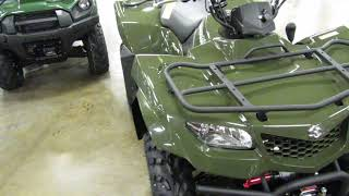 7. Romney Cycles 2018 Suzuki KingQuad 400 FSi 4x4
