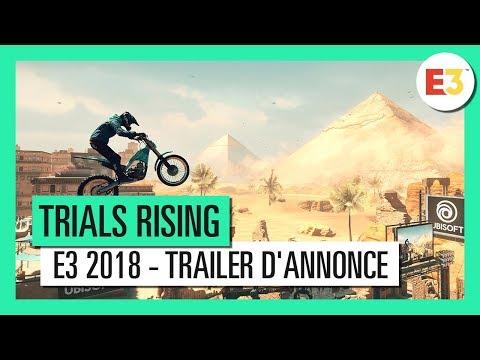 Trailer d'annonce de Trials Rising