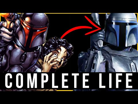 The LEGEND of Jango Fett | COMPLETE Life Story | Part 1