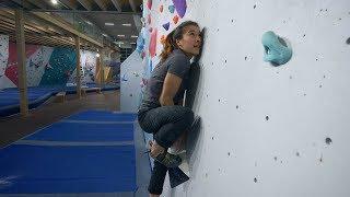 Slab Face Off - Sofya VS Hannes - Climbing Battles by Eric Karlsson Bouldering