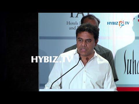 , IT Minister KTR-Airtel Hyderabad Marathon 2017