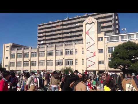 阿倍野区 金塚小学校フリマ 2012