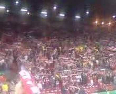 You'll Never Walk Alone In Anfield. Liverpool Vs Galatasaray
