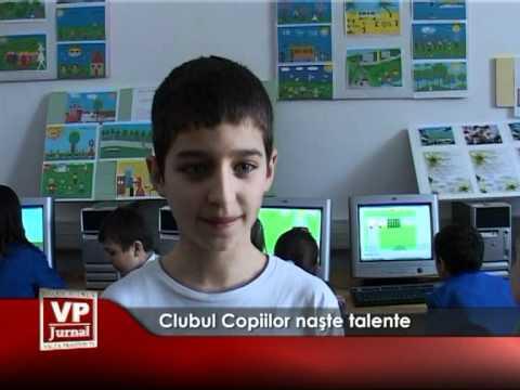 Clubul Copiilor naşte talente