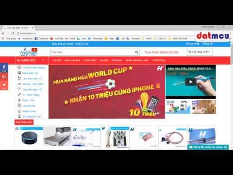 Hướng dẫn mua linh kiện điện tử trên mạng - Thời lượng: 39 phút.