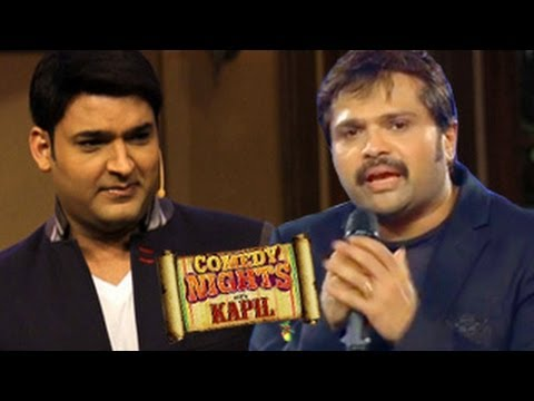 Kapil Sharma with Himesh Reshammiya on Comedy Nights with Kapil 20th April 2014 EPISODE