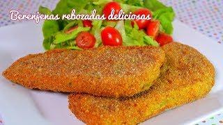 B - Cocina vegetariana: milanesas de berenjenas