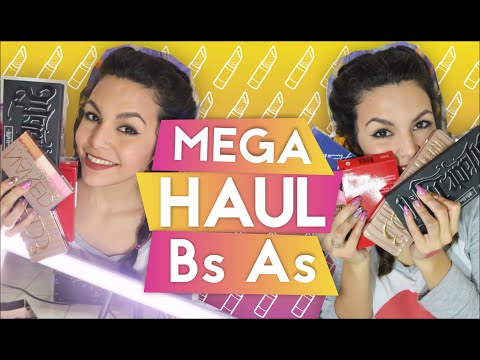 HAUL DE BS AS - Argentina / MEGA HAUL // AZUMAKEUP