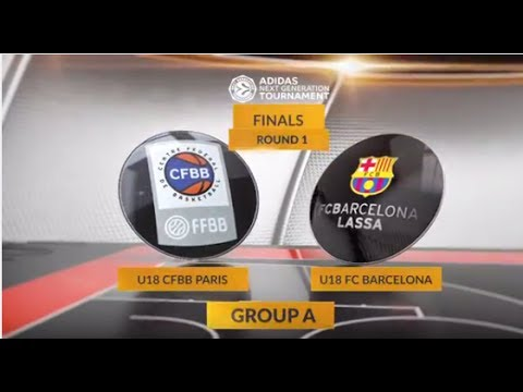 EB ANGT Finals Highlights: U18 CFBB Paris-U18 FC Barcelona Lassa