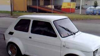 Mistrzowska robota! Tak zapi*rdala Fiat 126 z silnikiem od yamaha R1!