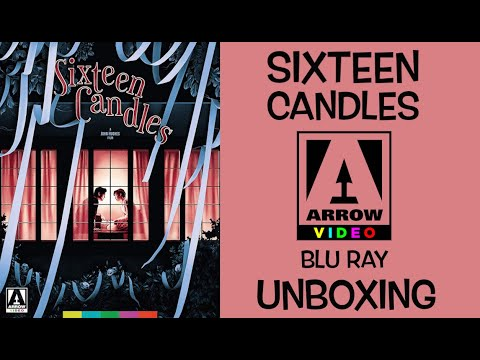 Sixteen Candles Arrow Video Blu Ray Unboxing