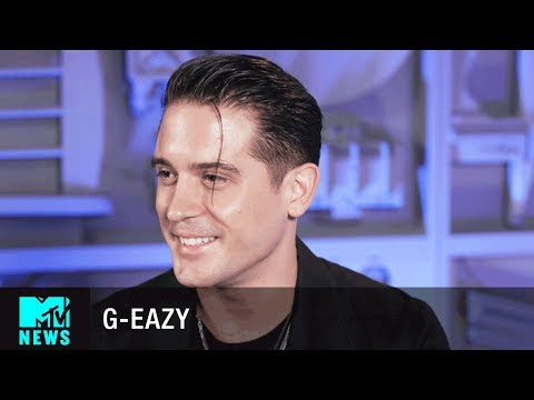 Video G-Eazy Talks 'Him & I' & Being Obsessed w/ Halsey | MTV News download in MP3, 3GP, MP4, WEBM, AVI, FLV January 2017